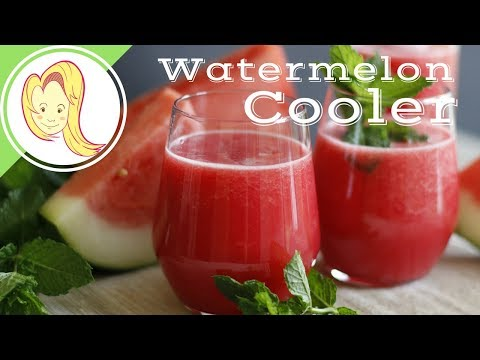 Refreshing Watermelon Cooler