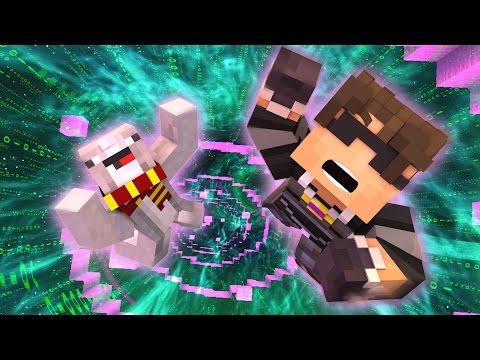 FALLING INTO THE DIGITAL WORLD! | Minecraft Adventure Map LIMBO! /w Facecam
