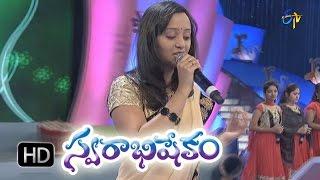 Ninne Ninne Song - Malavika Performance In Etv Swarabhishekam - 25th Oct 2015