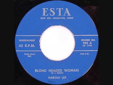 Harold Lee-Blond Headed Woman 1959