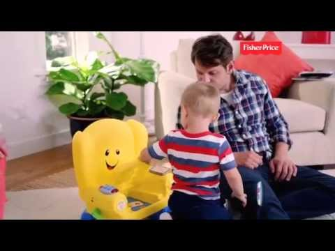 Fisher Price Laugh & Learn Smart Stages Yellow Chair