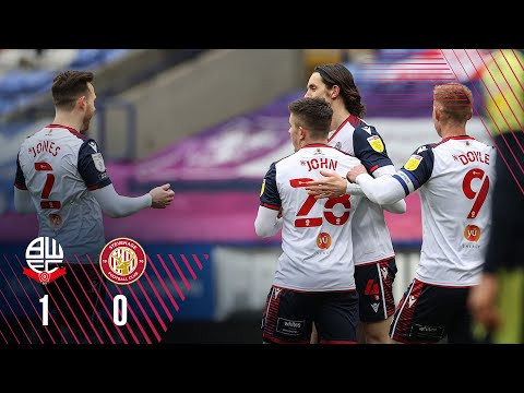 Bolton Stevenage Goals And Highlights