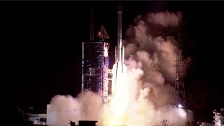 Long March-3C launches TJS-3 satellite