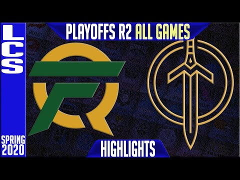 FLY Vs GGS Highlights ALL GAMES   LCS Spring 2020 Playoffs Round 2    FlyQuest Vs Golden Guardians