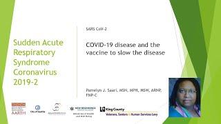 COVID 19 The Vaccine to Slow the Disease Pam Saari