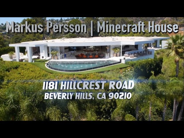 Markus Persson House Minecraft Notch 1181 N Hillcrest Rd Beverly Hills Ca 90210 Youtube
