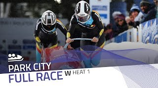 Park City   BMW IBSF World Cup 2017/2018 - Women's Bobsleigh Heat 1   IBSF Official