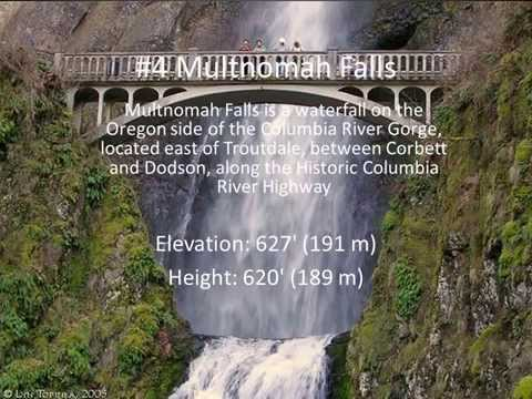 Top 10 Best Waterfalls in US Beautiful Amazing Waterfall
