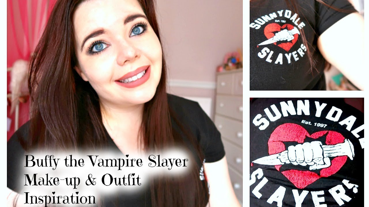 buffy the vampire slayer make up & outfit inspiration //last minute