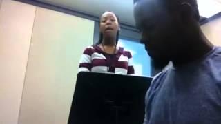 Mic.Keys & J.Faye Doing Mali Music Cover Beautiful
