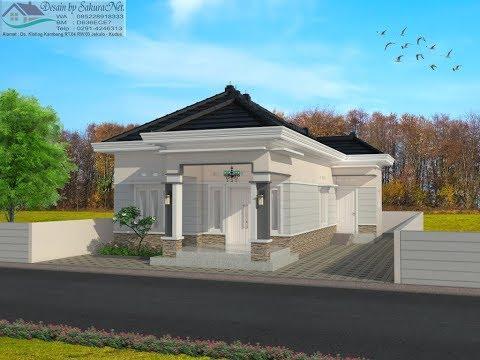 Rumah Minimalis Lantai 1_Modern House (7x12)