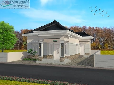 Desain Rumah Minimalis Ukuran 7x14  rumah minimalis lantai 1 modern house