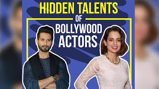 Hidden talents of Bollywood actors | Pinkvilla | Bollywood