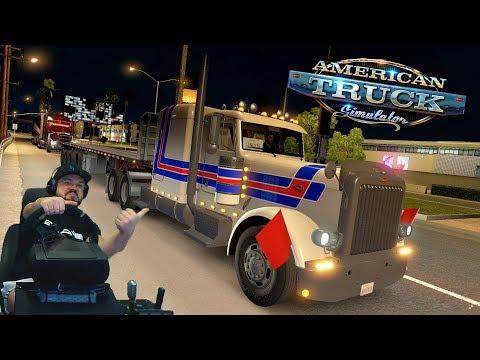 Поездка в New Mexico со своим прицепом! American Truck Simulator