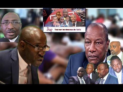 Les GG: -Robbie Sarah menacé, Kalifa Gasama Diaby menace d'autres ministres