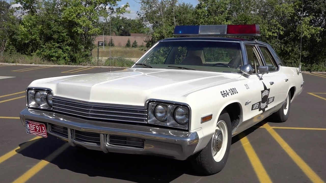 Deputy Stacy and his replica '74 Dodge Monaco Patrol Car: Classic Restos - Series 41