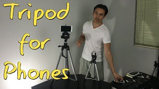 How to Attach a Smartphone to any Tripod