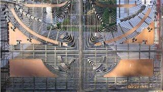 Кованные ворота  Ковка заборов(http://texnoblogs.blogspot.com/ Кованные ворота и заборы Применение кованых предметов в интерьере дома, квартиры или..., 2014-09-29T15:16:35.000Z)