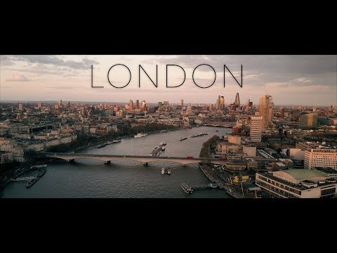 LONDON - DJI Mavic Pro 4K