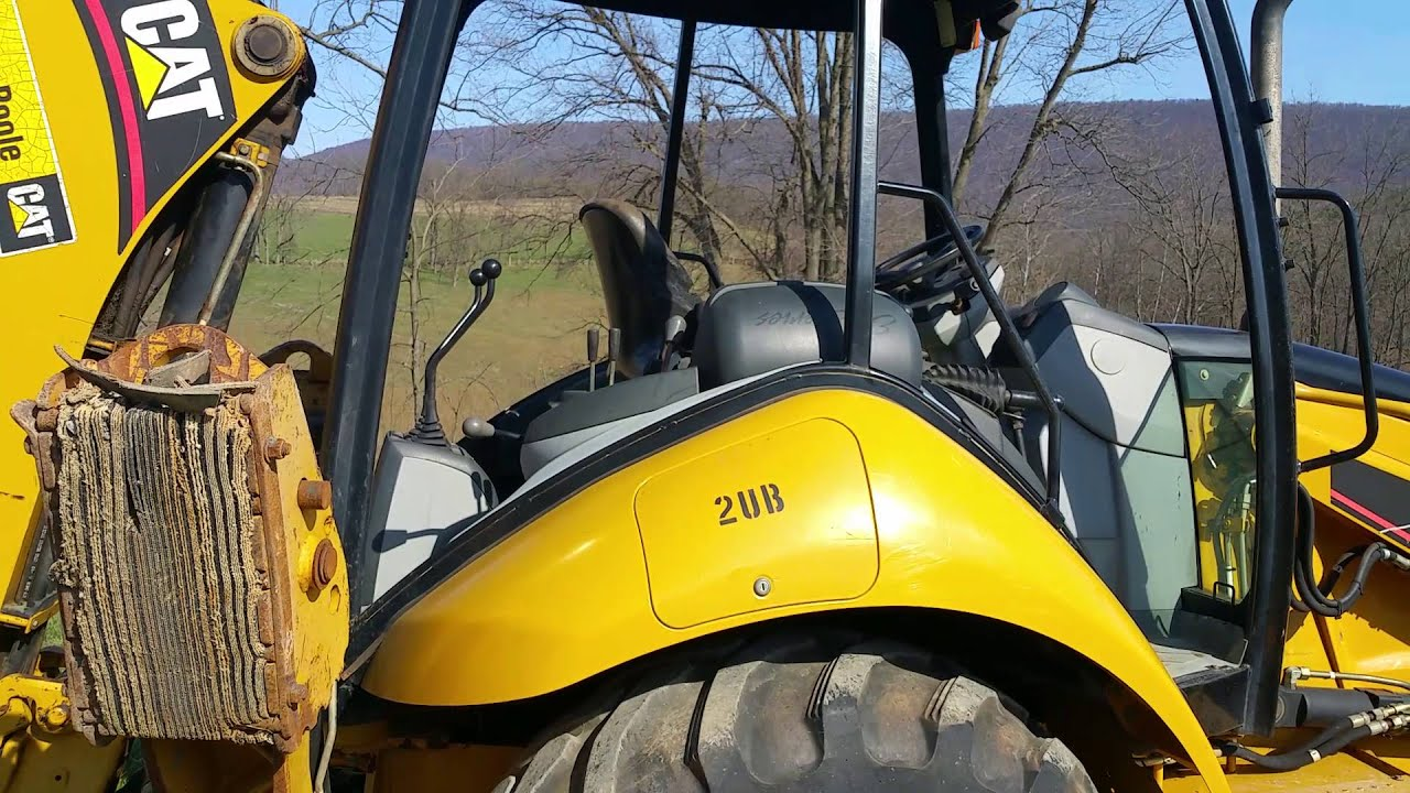 Caterpillar 416E Backhoe Loader 4x4 Hydraulic Machine For Sale Inspection  Video!