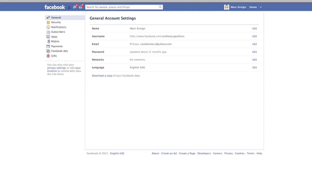 How to Get a New Email Address & Password for Facebook : Facebook Tips