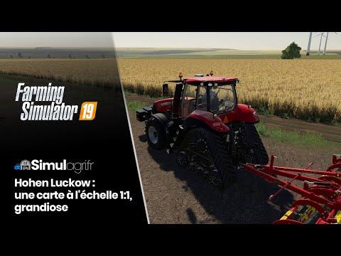 carte farming simulator 2020 Hohen Luckow pour Farming Simulator 19 : une carte à l'échelle 1:1