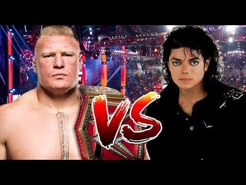 Brock Lesnar Vs Michael Jackson