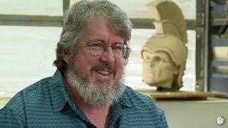 Lander Sculptor David Clark