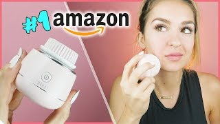 TESTING The Lavany Mini Facial Cleansing Brush | FIVE-STAR AMAZON RATED!?