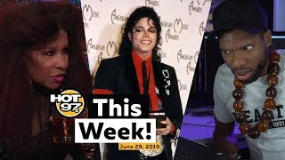 Loaded Lux TOPSHELF, Chaka Khan slams Kanye West, Ebro remembers MJ, and more on HOT97 This Week!