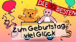 Repeat youtube video Zum Geburtstag viel Glück - Traditionelle Kinderlieder || Kinderlieder
