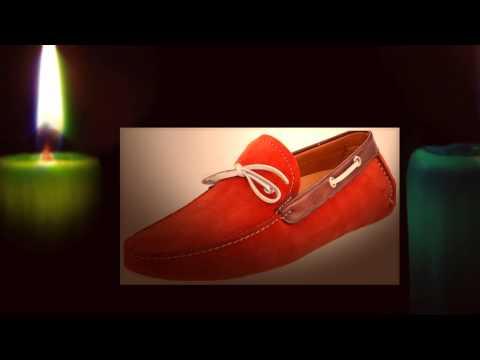 С чем носить красные мокасины