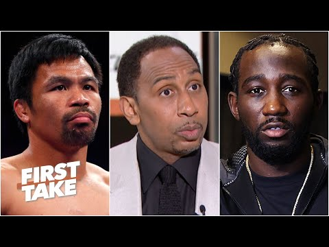 Stephen A. is 'scared' Manny Pacquiao would get knocked out vs. Terence Crawford   First Take