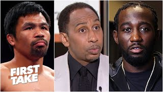 Stephen A. is 'scared' Manny Pacquiao would get knocked out vs. Terence Crawford | First Take