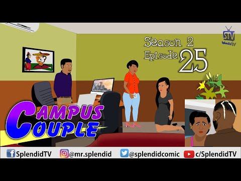 CAMPUS COUPLE S2 EP25; after the wedding (Splendid TV) (Splendid Cartoon)