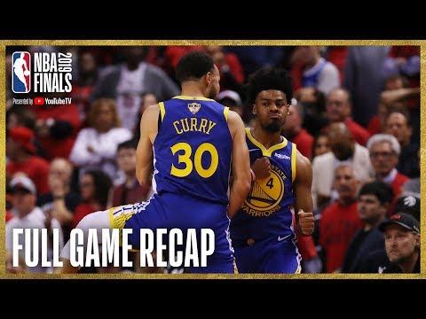 WARRIORS Vs RAPTORS | Golden State Ties Up The Series! | NBA Finals Game 2