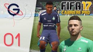 FIFA 17 : CARRIÈRE PRO FR #1 - Vers une légende !