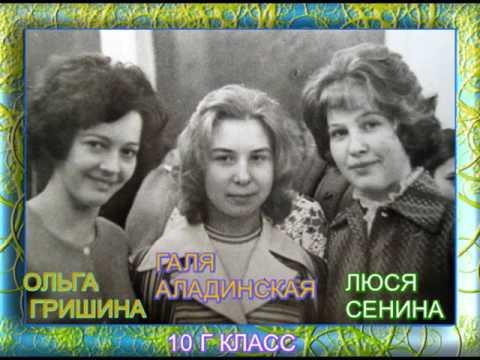 ЮБИЛЕЙНАЯ ВСТРЕЧА ВЫПУСКНИКОВ ШКОЛЫ 1977 г ВЫПУСКА