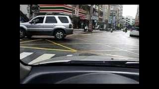 李嘉恩汽車道路駕駛教練教學-汽車路考fu系列之6-左轉彎的fu