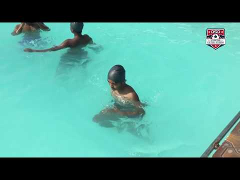 DSD Academy Player Vikas Sharma | Recovery Session in pool