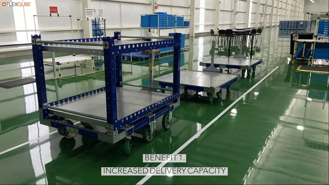 Benefits Of Using Tugger Carts In Lean Manufacturing