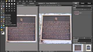 Photoshop Elements 10 - Use Correct Camera Distortion  tools to enhance image