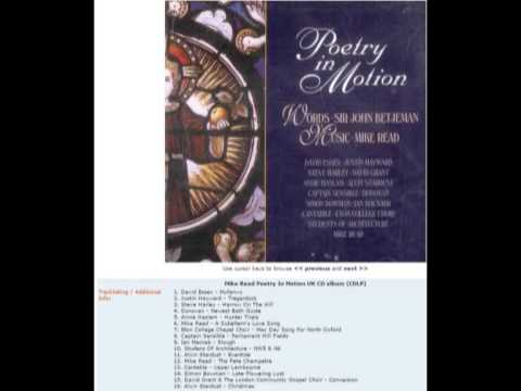 Poetry In Motion - Sir John Betjeman