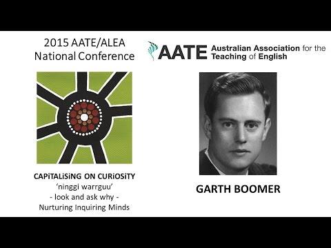 2015 Garth Boomer Address
