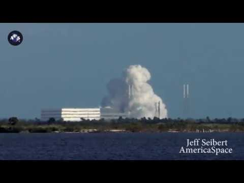 SpaceX CRS-13 Test Fire & Return of SLC-40 to Service