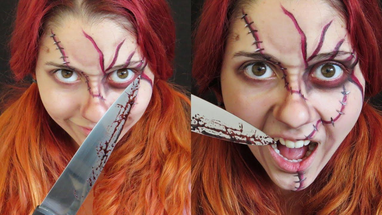 Jack Boneco Assassino Pretty makeup halloween: chucky - o boneco assassino | #halloweentododia
