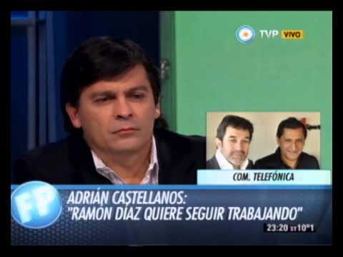 Debate: Ramon Diaz vs Dirigentes - Com. Tel. Adrian Castellanos y Matias Patanian - 01-06-14