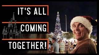 It. Is. Time. | Grand Floridian Gingerbread House, Magic Kingdom Christmas Tree, & Castle Lights