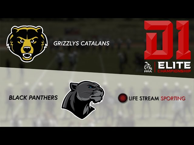 [FOOT US] REPLAY | GRIZZLYS CATALANS / BLACK PANTHERS Championnat Élite 2020