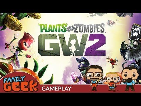 Plants vs Zombies : Garden Warfare 2 - Gameplay Fun en famille père & fils - Family Geek fr